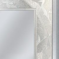 Palm Leaf Rectangle Wall Mirror (8879) - Illuminada