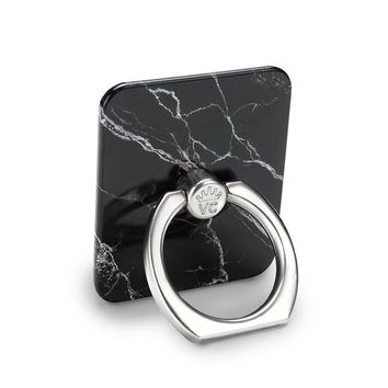 Black Marble Phone Ring