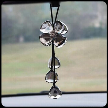 Crystal Handcrafts Hot Sale Leaf Cars Car Pendant [4914636612]
