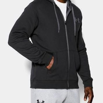 Under Armour Men's UA Rival Fleece Full Zip Hoodie