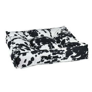 MicroVelvet Square Piazza Dog Bed — Wrangler