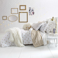 Glam Polka Dot Reversible Comforter Set
