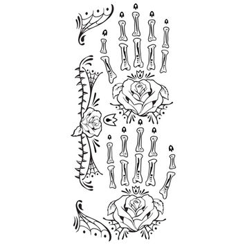 Tattoo Sales: Day of the Dead Skeleton Hand - Buy Direct From The Source