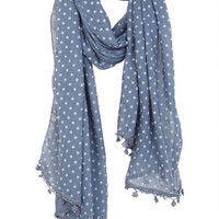 Chambray Dot Scarf
