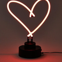 Neon Heart Lamp, Multi