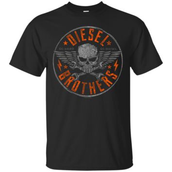 Diesel Brothers Go Hard Go Diesel Skull Cross Wrench T-Shirt