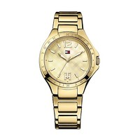 GOLD BRACELET WATCH | Tommy Hilfiger USA