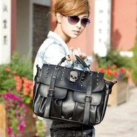 Skull handbags   single shoulder tote bag