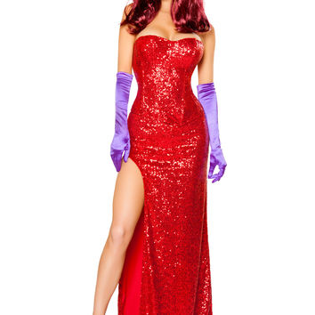 Roma Costume - 2pc Rabbits Lover Women's Costume