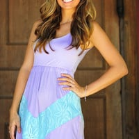 A Perfect Summer Dress: Purple/Blue | Hope's