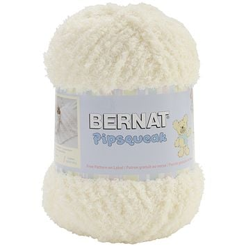 Bernat Pipsqueak Big Ball Yarn-Vanilla - 3 PC SET