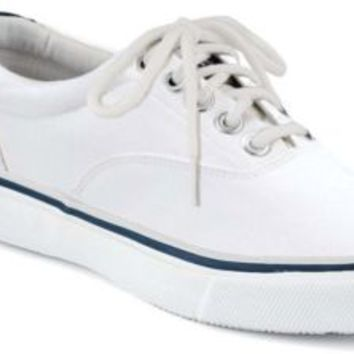Sperry Top-Sider Striper CVO Sneaker White, Size 7.5M  Men's Shoes