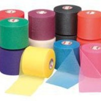 Mixed Colors Bulk Prewrap for Athletic Tape - 12 Rolls, Rainbow by IthacaSports