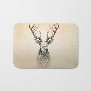 Comwarm welcome home door mats for entrance door colored pretty deer rugs light soft anti slip bathroom carpets decor crafts