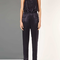 Satin Jumpsuit By Boutique - Rompers - Clothing - Topshop USA