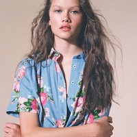 Laura Ashley & UO Launa Button-Down Shirt | Urban Outfitters