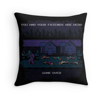 '13th of Friday' Throw Pillow by likelikes