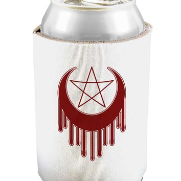Weeping Crescent Blood Moon Star Can and Bottle Insulator Cooler