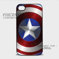 Captain America shield Plastic Cases for iPhone 4,4S, iPhone 5,5S, iPhone 5C, iPhone 6, iPhone 6 Plus, iPod 4, iPod 5, Samsung Galaxy Note 3, Galaxy S3, Galaxy S4, Galaxy S5, Galaxy S6, HTC One (M7), HTC One X, BlackBerry Z10 phone case design