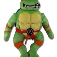 Teenage Mutant Ninja Turtles Michelangelo Plush Figure Backpack 18""