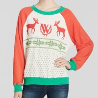 WILDFOX Pullover - Pastel Snow Babe