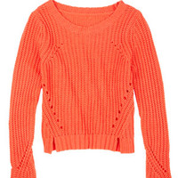 Sadie Shaker Stitch Sweater