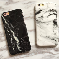 Unique Retro Marble iPhone 7 7Plus & iPhone se 5s 6 6 Plus Case Best Protection Cover +Gift Box-528