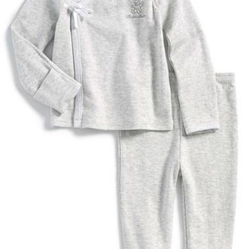 Infant Boy's Ralph Lauren Kimono Two-Piece Set