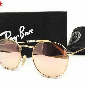 Ray Ban Fashion Ladies Men Delicate Summer Sun Shades Eyeglasses Glasses Sunglasses Pink I-MYJ-YF