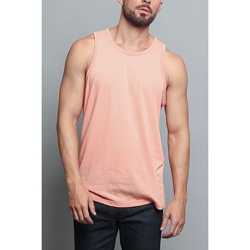 Basic Essential Straight Hem Long Length Tank Top TT60 (New Colorways)-H11A