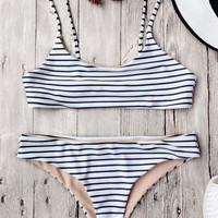 Swimsuit Hot New Arrival Summer Beach Swimwear Stripes Sexy Ladies Bikini [11560174607]