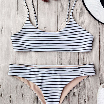 Swimsuit Hot New Arrival Summer Beach Swimwear Stripes Sexy Ladies Bikini [10240448269]