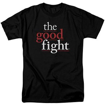 The Good Fight T-Shirt Logo Black Tee