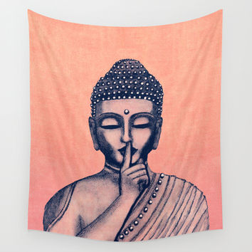 BuDDha  Wall Tapestry by Vanya