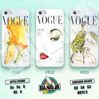 VOGUE, Fashion, Magazine, Vintage, iPhone 5 case, iPhone 5S case, iPhone 5c case, Phone case, iPhone 4 Case, iPhone 4S Case, Phone Skin VE01