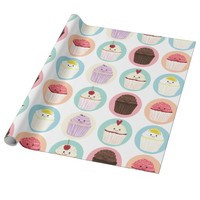 Wrapping Paper Cupcake Cuties