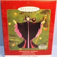 2000 Sleeping Beauty's Maleficent Hallmark Disney Retired Ornament