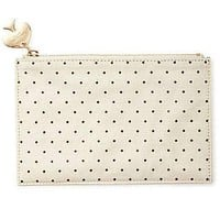 Pencil Pouch in Deco Dots by Kate Spade New York