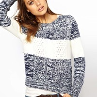 Hilfiger Denim | Hilfiger Denim Stripe Aran Knit Jumper at ASOS