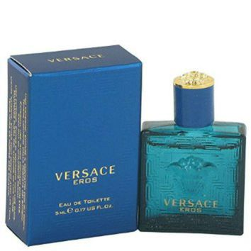 Versace Eros for Men by Versace EDT Splash Miniature 0.17 oz