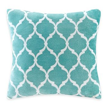 Madison Park Ogee Reversible Square Throw Pillow