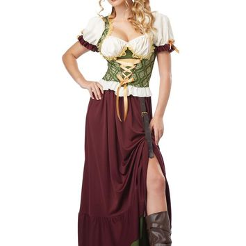 California Costumes Female Renaissance Wench Costume CC01254