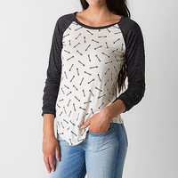 Women's Arrow Top in Cream/Grey by Daytrip.