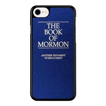 The Book Of Mormon Cover Book iPhone 8 Case