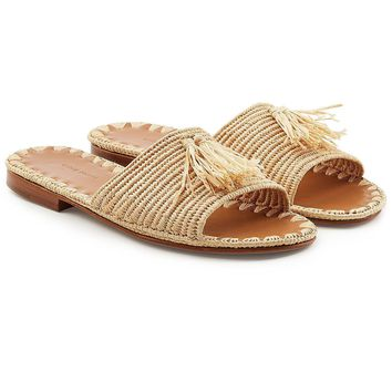 Adam Sandals with Raffia