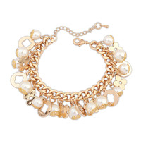 Stylish Gift Great Deal Awesome Shiny Hot Sale New Arrival Pearls Bracelet [4918808836]