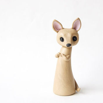 Chihuahua Figurine by Bonjour Poupette