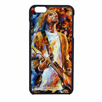 Vintage Classic Rock N Roll Collection Grunge Icon Nirvana Kurt Cobain iPhone 6S Case