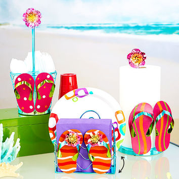 Flip Flop Summer Themed Entertainment Collection Picnic Party
