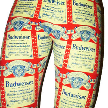 SWEET LORD O'MIGHTY! Budweiser Leggings